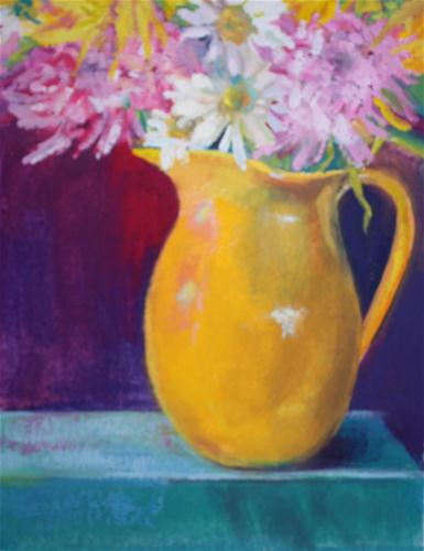 """Flowers for You"" original fine art by Pamela Sweet"