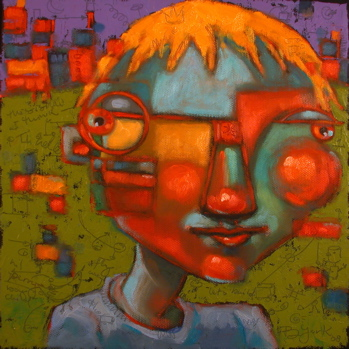 """Boy-Child"" original fine art by Brenda York"