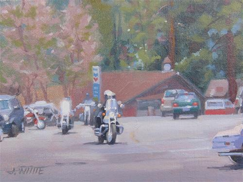 """Idyllwild Ride"" original fine art by John White"