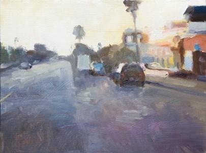 """""""Evening Solstice"""" original fine art by Randall Cogburn"""