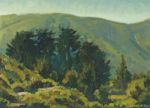 """Creek Trail"" original fine art by J. Thomas soltesz"