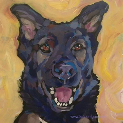 """Ringo!"" original fine art by Kat Corrigan"