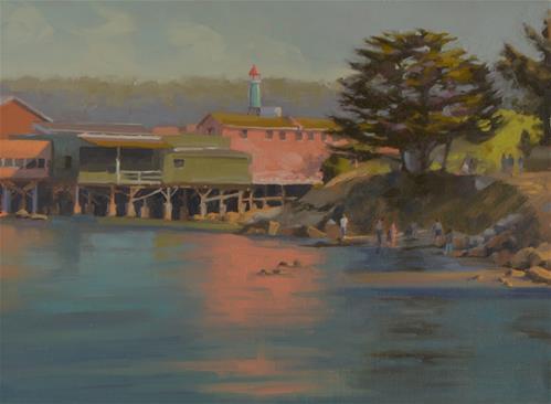 """""""Monterey Morning"""" original fine art by John White"""