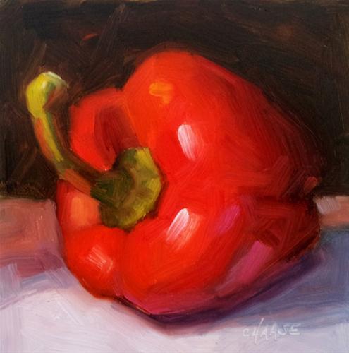 """""""Redhead"""" original fine art by Cindy Haase"""