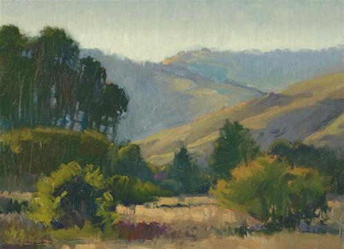 """Valley Glow"" original fine art by J. Thomas soltesz"