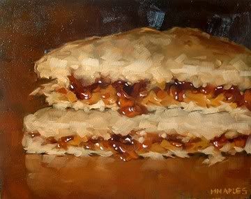"""PB&J No.4"" original fine art by Michael Naples"