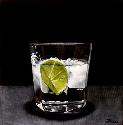 """A Wedge of Lime"" original fine art by Jelaine Faunce"