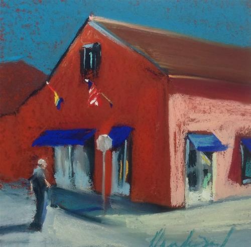 """Calle D Santa Ana"" original fine art by Karen Vanderpool"