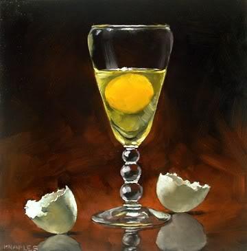 """Elegant Egg"" original fine art by Michael Naples"