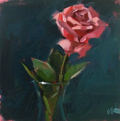 """Solitude --- SOLD"" original fine art by Carol Marine"