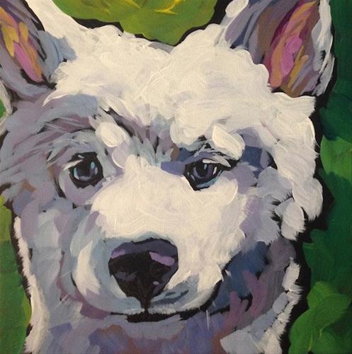 """Koto"" original fine art by Kat Corrigan"