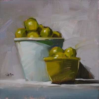 """Limes and More"" original fine art by Carol Marine"