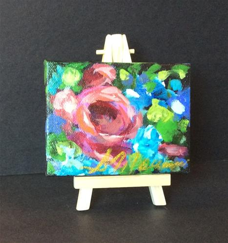 """""""Serenity"""" original fine art by Susie Monzingo"""