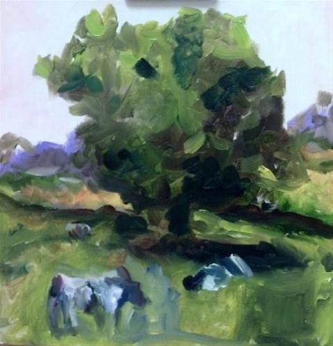 """study"" original fine art by Susan Elizabeth Jones"