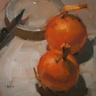 """Second Thoughts"" original fine art by Carol Marine"
