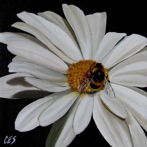 """Once Upon a Daisy"" original fine art by ~ces~ Christine E. S. Code"
