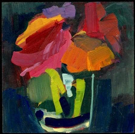 """""""1973 Hingham Arts Walk"""" original fine art by Lisa Daria"""