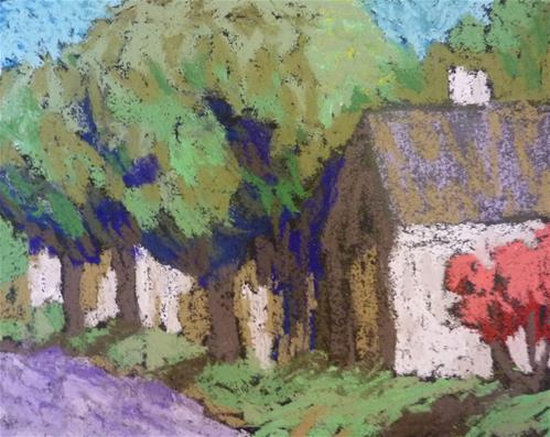 """Fun with Pastels"" original fine art by Bobbi Heath"