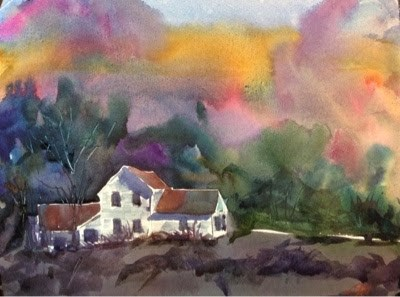 """#2/30 in 30 - Forgotten Homeplace"" original fine art by Lyn Gill"