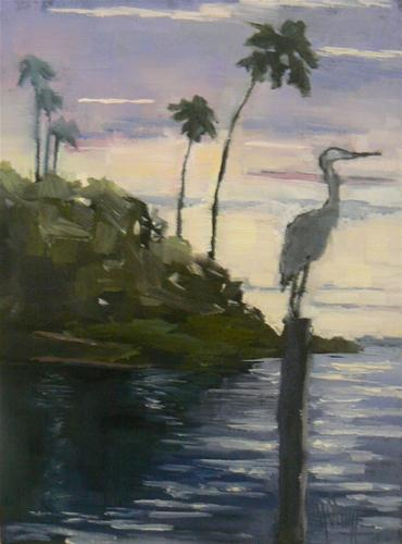 """Another Day In Paradise"" original fine art by Carol Schiff"