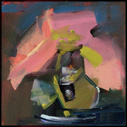 """2307 Book Paint"" original fine art by Lisa Daria"