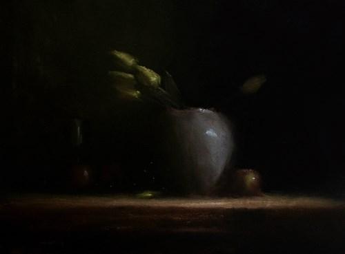 """Arrangement with Tulips"" original fine art by Neil Carroll"