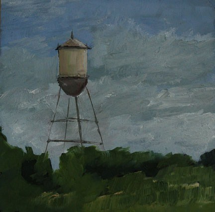 """TEXAS LANDSCAPE 3"" original fine art by Linda Popple"