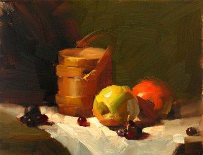 """""""Demo at Salado 2 --- Sold"""" original fine art by Qiang Huang"""