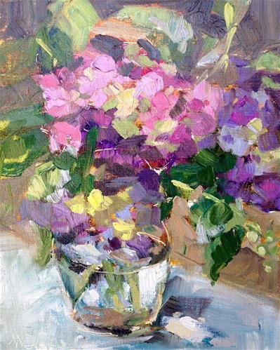 """""""Fresh Summer Bouquet"""" original fine art by Melissa Jander"""