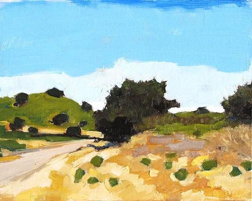 """Santa Barbara Landscape"" original fine art by Kevin Inman"