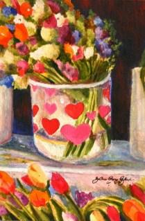 Love for Sale original fine art by Joanne Perez Robinson