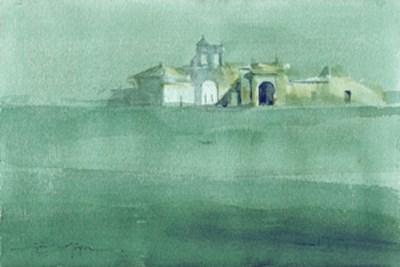 """Seville countryside 7"" original fine art by Emilio López"