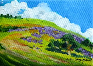 """Happy Trails"" original fine art by JoAnne Perez Robinson"