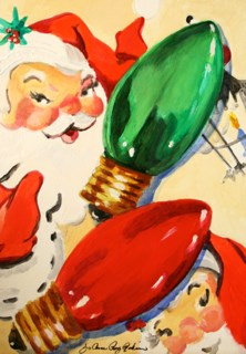 """Spare Bulbs"" original fine art by JoAnne Perez Robinson"