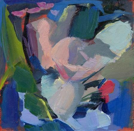 """1378 Guest Appearance"" original fine art by Lisa Daria"