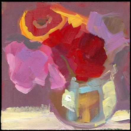 """1840 Rockport Red"" original fine art by Lisa Daria"