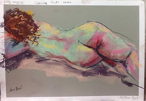 """Life Drawing Revisited"" original fine art by Neva Rossi"