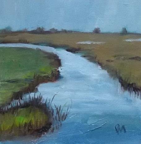 """Water Wander"" original fine art by Pamela Munger"
