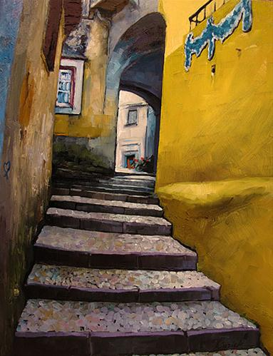 """Portugal Passages"" original fine art by Karin Jurick"