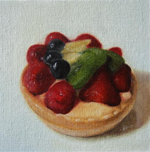 """Fruit Tart"" original fine art by Jonathan Aller"