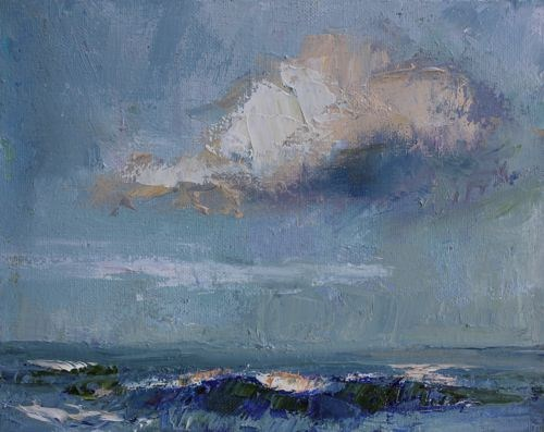 """""""Calm Ocean Seascape Paintings by Arizona Artist Amy Whitehouse"""" original fine art by Amy Whitehouse"""