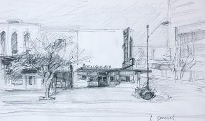 """""""Kruger's Corner"""" original fine art by Laurel Daniel"""