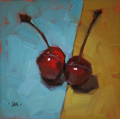 """Romeo & Juliet"" original fine art by Carol Marine"