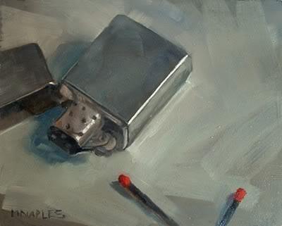 """Fire Starters"" original fine art by Michael Naples"