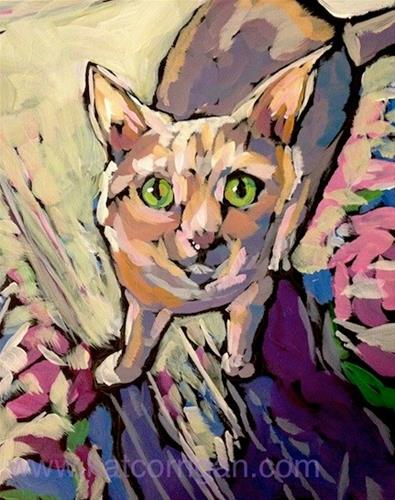 """Rosie"" original fine art by Kat Corrigan"