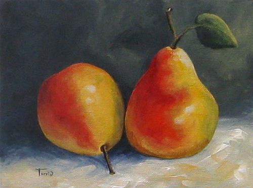 """Sunday Pears"" original fine art by Torrie Smiley"
