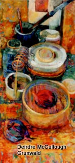 """Studio Stillife"" original fine art by Deirdre McCullough Grunwald"