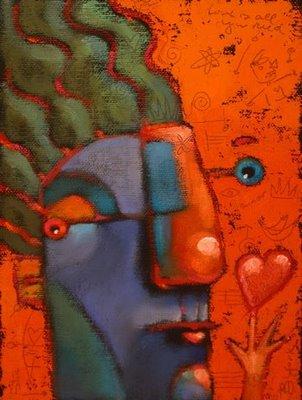 """B-Mine"" original fine art by Brenda York"