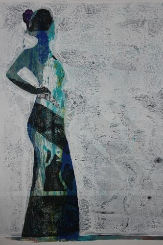 """Resilience, Contemporary Figure Painting by Arizona Artist Amy Whitehouse"" original fine art by Amy Whitehouse"