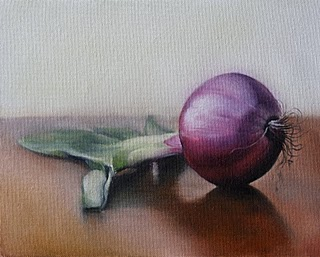 """Onion 2"" original fine art by Jonathan Aller"